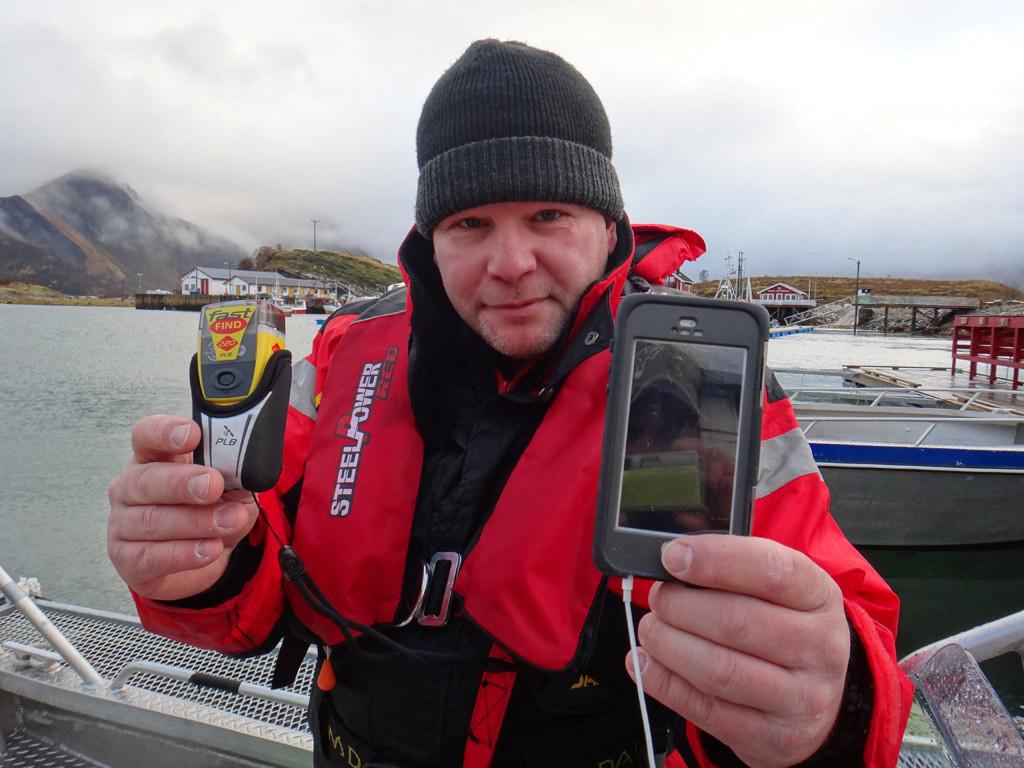 Für Angler gibt es zahlreiche Sicherheits-Gadgets, die sich hervorragend als Weihnachtsgeschenk eignen.