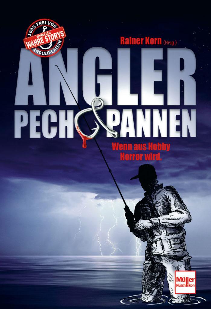 """Kutter & Küste-Chefredakteur Rainer Korn berichtet in """"Angler, Pech und Pannen"""" von bewegten (und lustigen!) Szenen des Anglerdaseins. Da findet sich jeder Angler wieder … Bild: Motorbuch Verlag"""