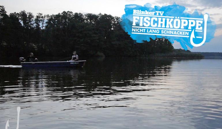 Aalangeln mit den Fischköppen in mecklenburg-Vorpommern.