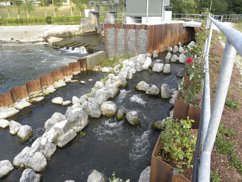 Fischtreppen gelten als absolute Speerzone für Angler. Foto: pb
