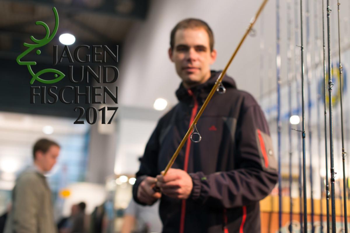 Die Messe Jagen und Fischen 2017 in Augsburg bietet Anglern und Jägern ein breites Rahmenprogramm. Foto: Blinker