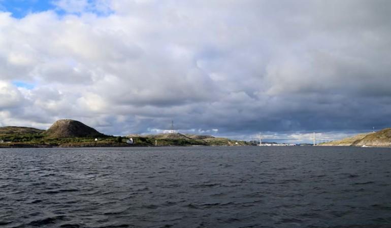 In Norwegen gehört wechselhaftes Wetter zum Alltag. Foto: D. Figge