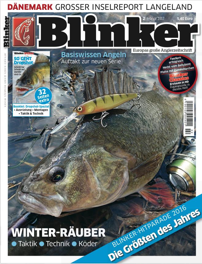 Das neue BLINKER-Magazin 2017 erscheint am 18. Januar im Handel.