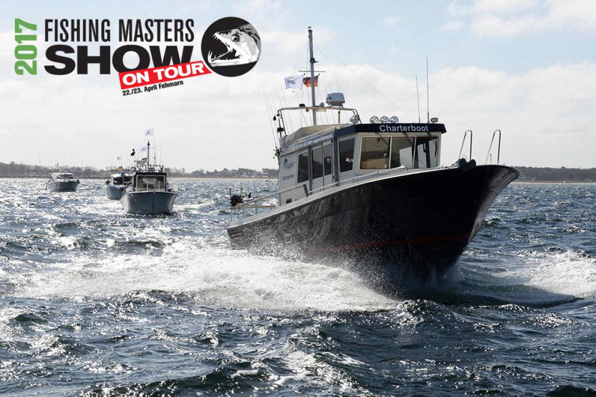 Auf der Fishing Masters Show auf Fehmarn geht es nicht nur zu Land heiß her, sondern auch zu Wasser. Foto: FMS
