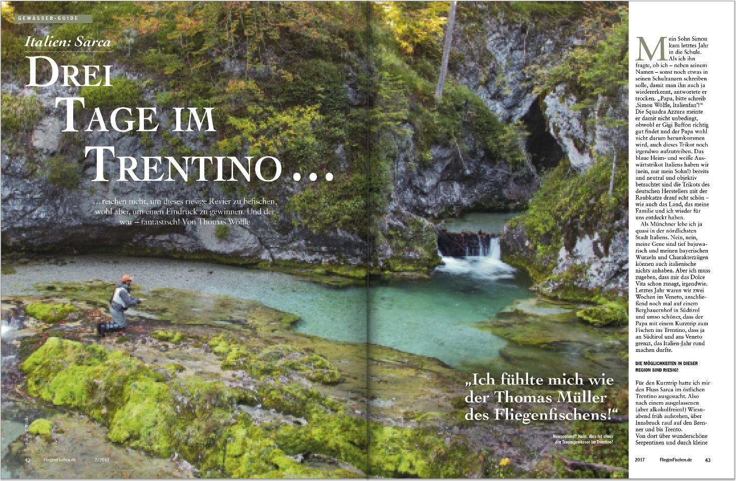 Fliegenfischen 2-2017 Trentino Italien Thomas Wölfle