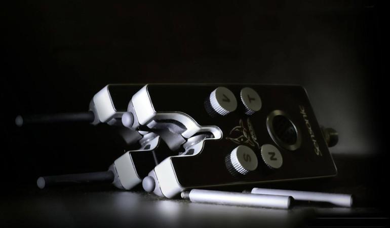 Die Sensonic Bissanzeiger von Quantum wurden in Zusammenarbeit mit Radical-Teamangler Robin Illner entwickelt. Foto: Zebco