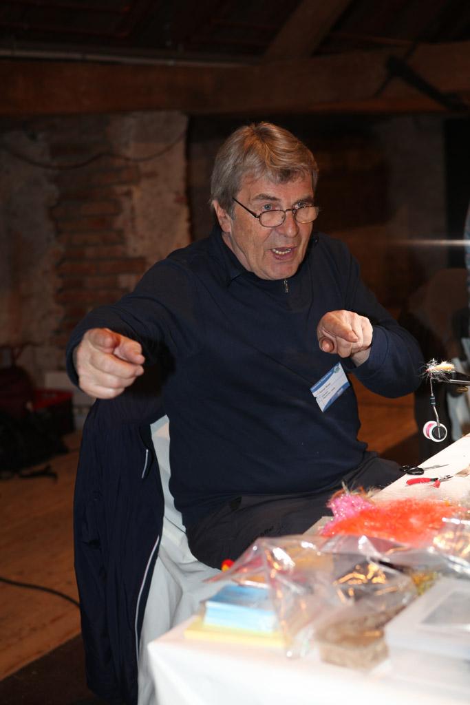 Roman Moser aus Österreich hatte im letzten Jahr als Jury-Mitglied alle Hände voll zu tun.