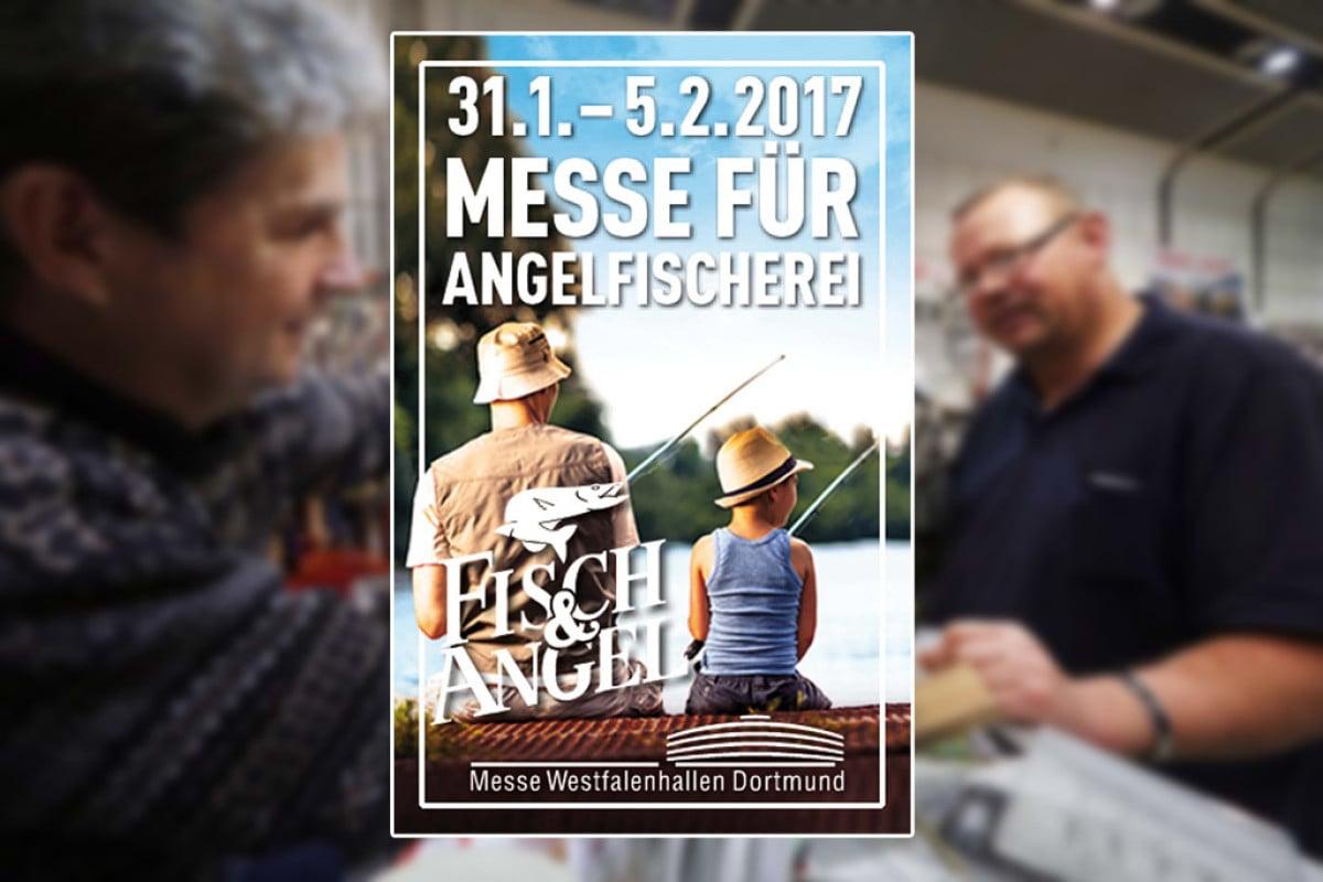 Die Messe Fisch & Angel findet bereits zum vierten Mal in Dortmund statt.
