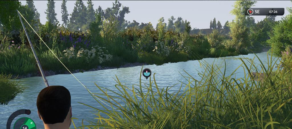Computerspiele für Angler gibt es für unterschieldiche Plattformen und Computer in jedem Fachmarkt oder Internet. Foto: Screenshot/Euro Fishing