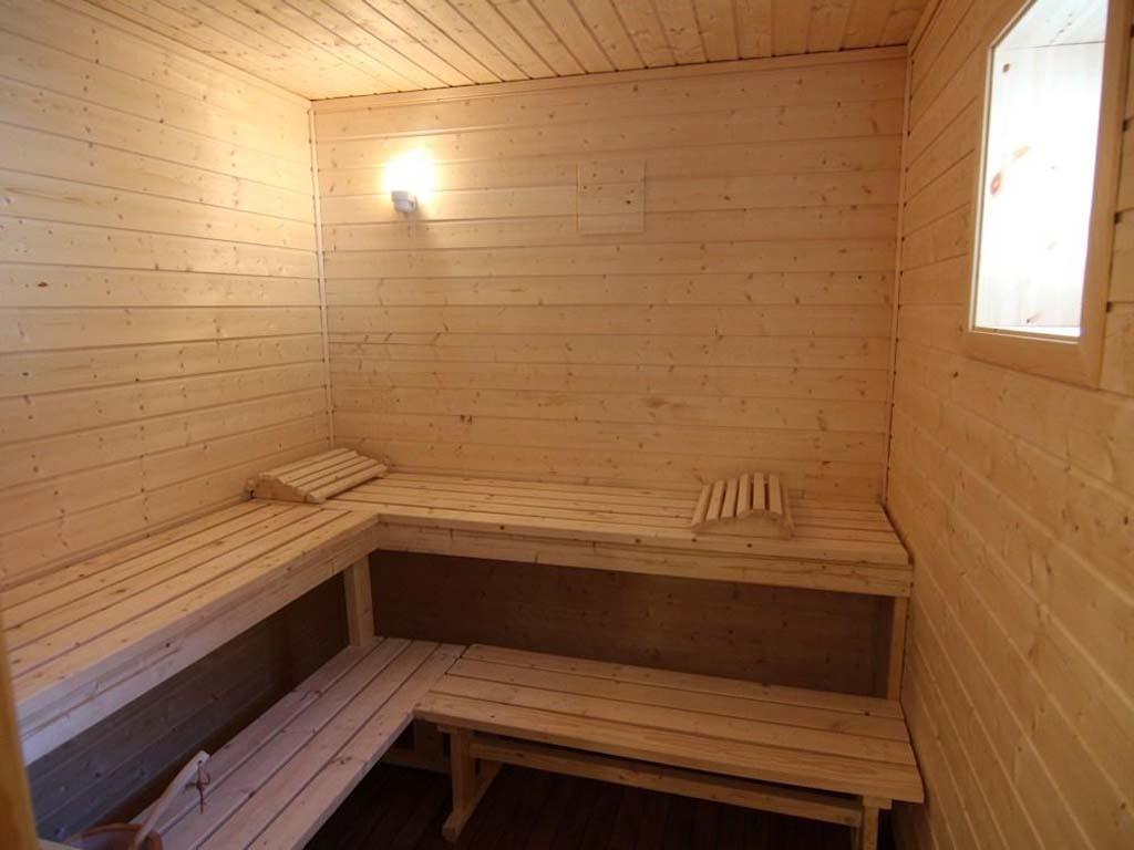 In der Saune lässt es sich nach einem Angeltag wunderbar entspannen. Foto: Borks