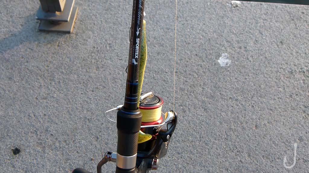 Mit dieser Sportex Ausrüstung gingen die fischköppe zum Raubfischangeln im Winter.