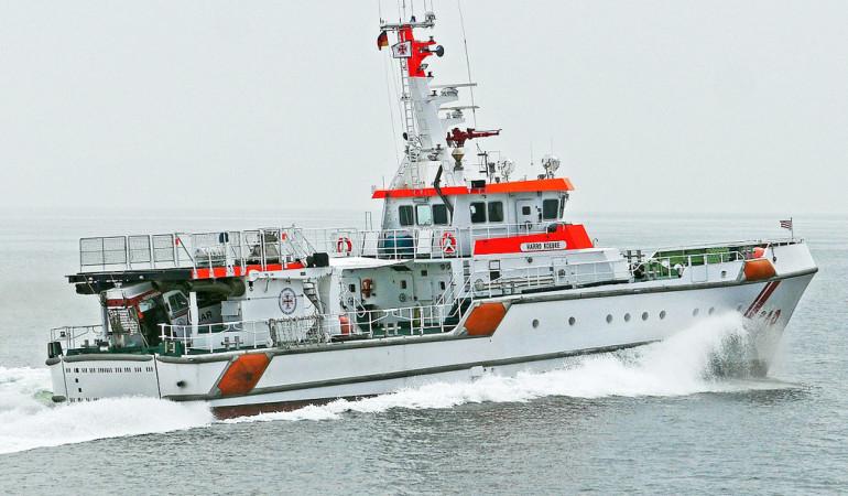 Seerettung auf ostsee: Die Seenotrettungskreuzer helfen in Seenot geraten Schiffen aus ihrer misslichen Lage. Foto: pb/hpgruesen