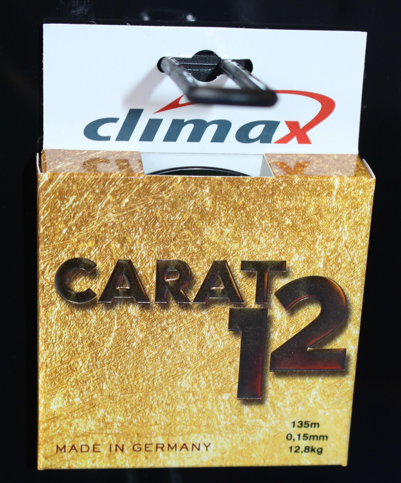 Die Carat 12 hat eine lange Lebensdauer und kann mehrere Jahre auf der Rolle gefischt werden, wenn man sie nicht der direkten UV-Strahlung des Sonnenlichtes aussetzt. Foto: A. Pawlitzki