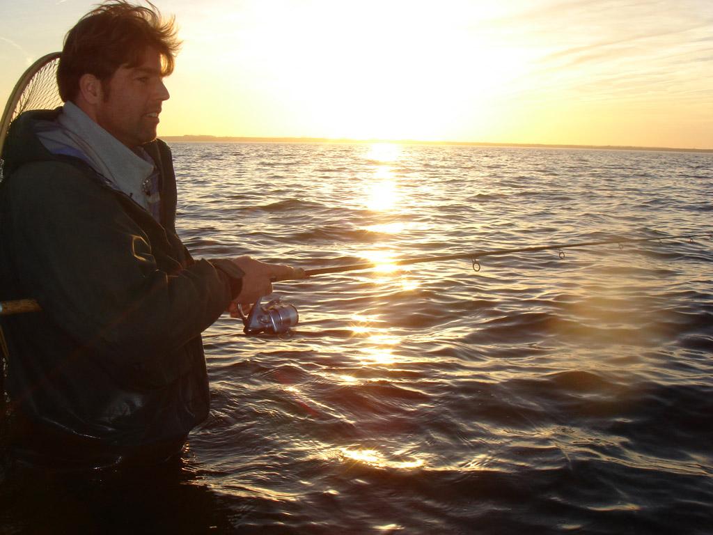 In Zusammenarbeit mit erfahrenen Angler kann das CATCH-Projekt erfolgreich sein. Foto: BLINKER/F. Schlichting