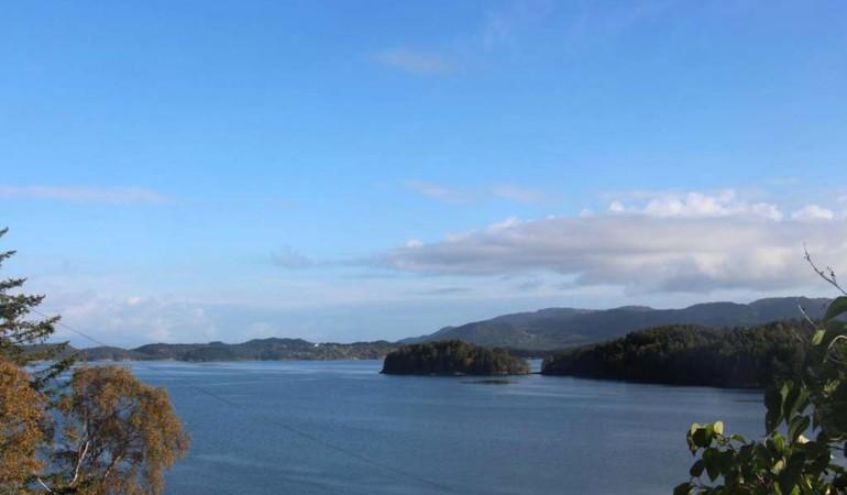 Diese tolle Aussicht erwarte Angelurlauber vom Ferienhaus am Bømlafjord. Foto: Borks