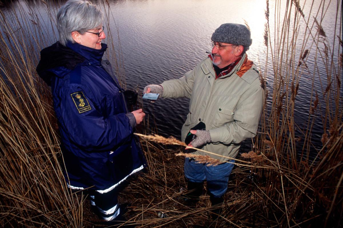 Zukünftig kommen mehr Fischereiaufseher in Sachsen zum Einsatz. Foto: BLINKER/ Steen Larsen