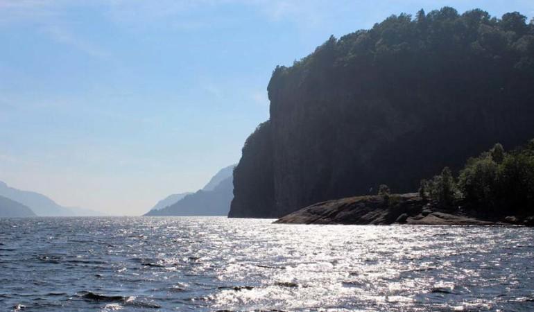 Angelurlaub Norwegen: Ferienhaus am Fedafjord bei Hidra