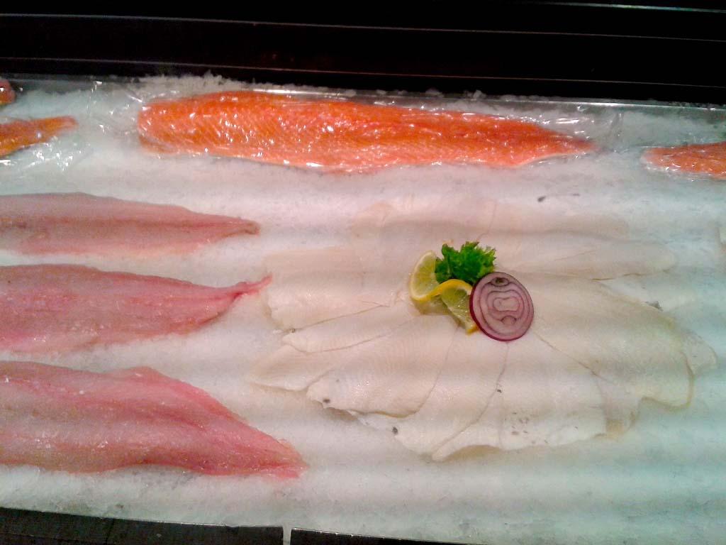 Je nach Fischart, hat das Filet eine unterschiedliche Färbung. Foto: BLINKER/L.Berding
