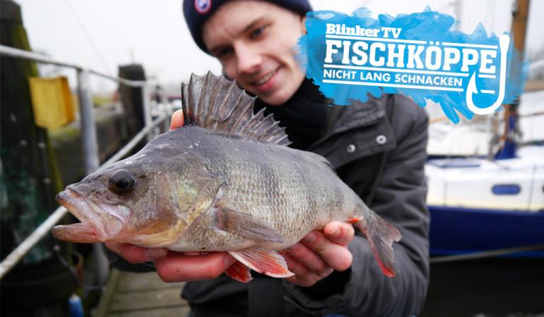 Barschangeln an Hindernissen konnte Fischkopp Finn diesen tollen Fisch fangen.