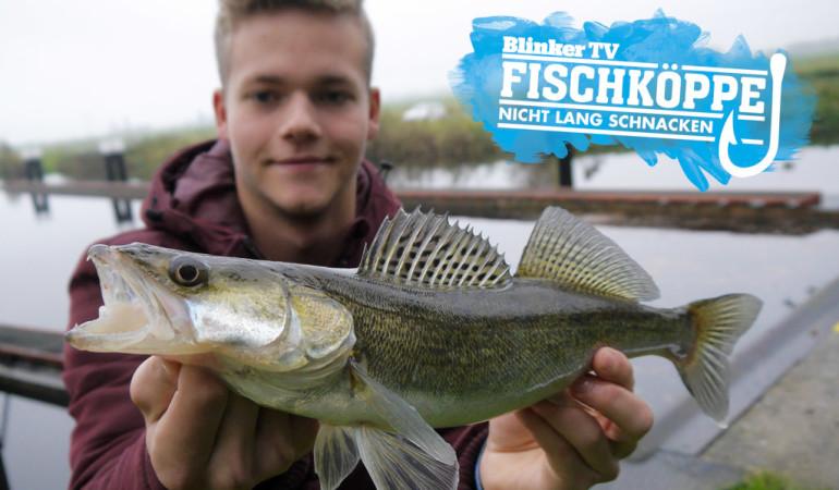 Zanderangeln an Schleusen mit den Fischköppen. Jetzt das neue Video auf blinker.de ansehen.