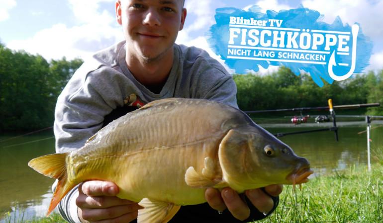 Fischköppe: Karpfenangeln mit Dosenmais am Vereinssee Foto: BLINKER/Fischköppe