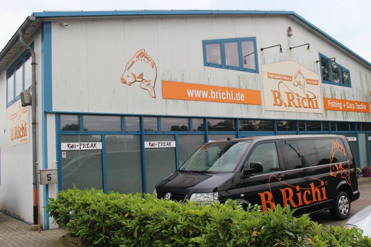 Die Hauptzentrale der Firma B. Richi. Foto: B. Richi