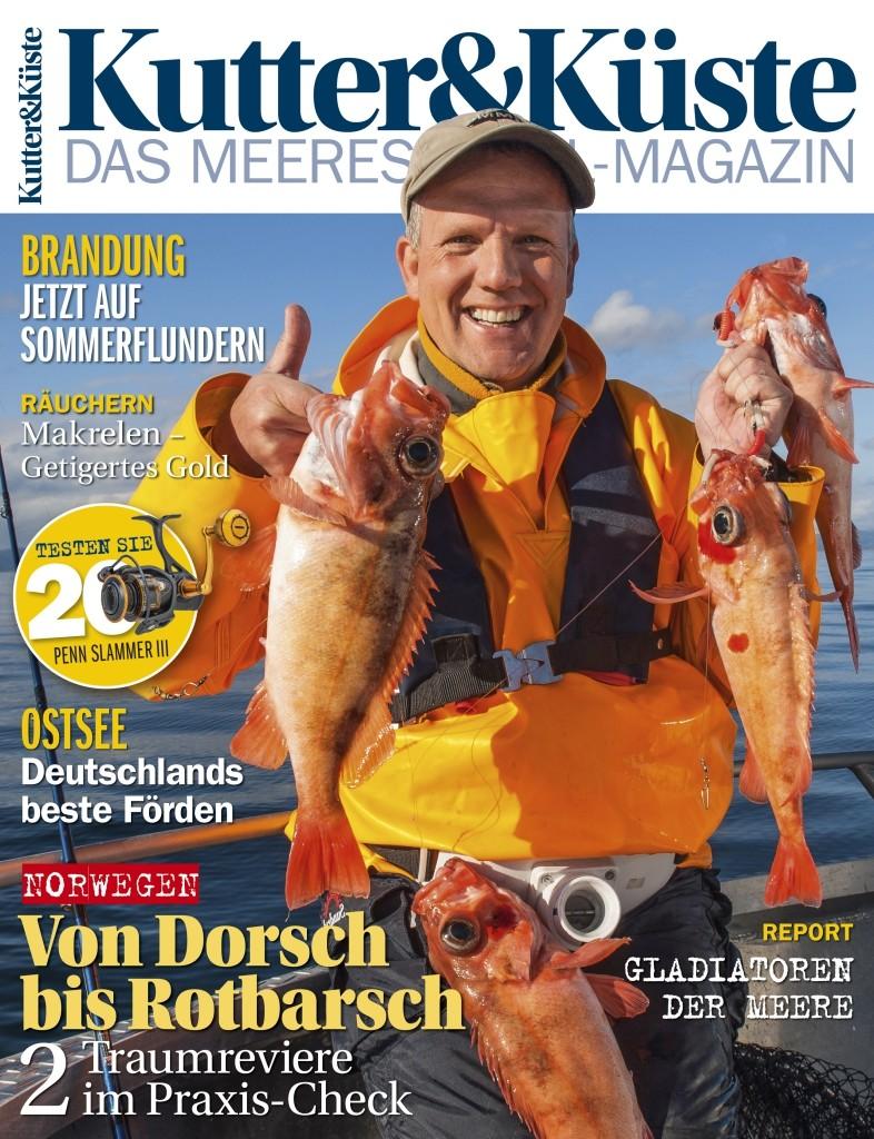 Die neue Ausgabe der Kutter & Küste 67 ist ab dem 19. Jli 2017 im Handel und bei uns im Shop erhältlich.