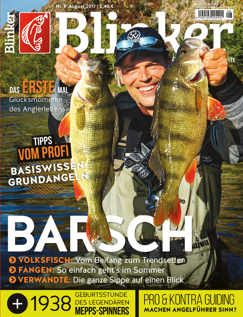 BLINKER MAGAZIN 08/2017