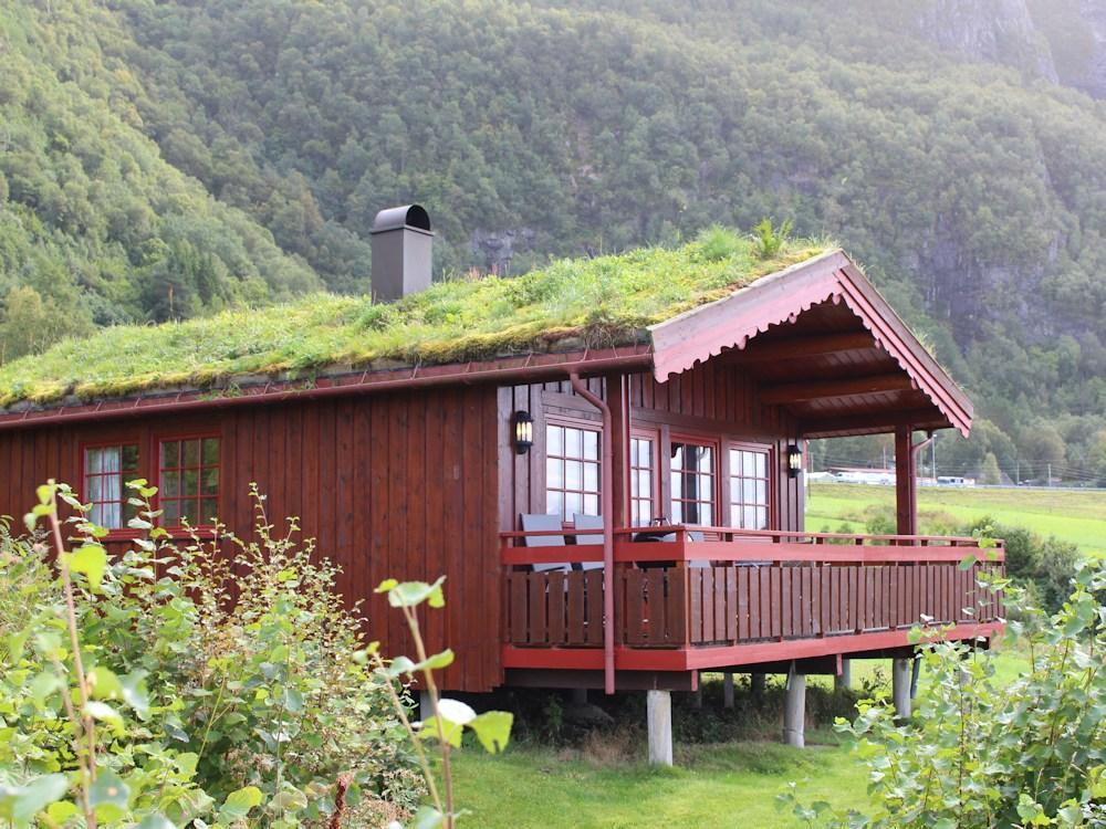 Das Ferienhaus im skandinavischen Stil bietet eine Menge Vorzüge, die man sich als Gast wünscht. Hier lässt sich wunderbar der Angelurlaub verbringen. Foto: Borks