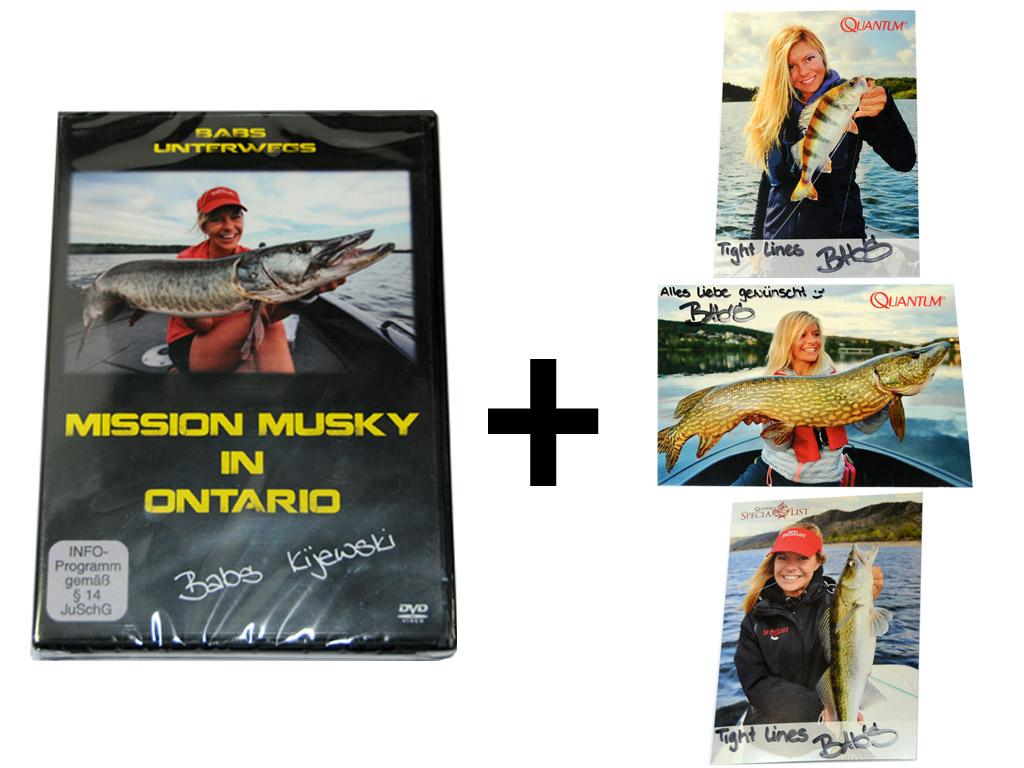 Gewinnt eine von insgesamt drei neuen DVDs von Babs Kijewski. Außerdem erhalten die Gewinner noch eine signierte Autogrammkarte.