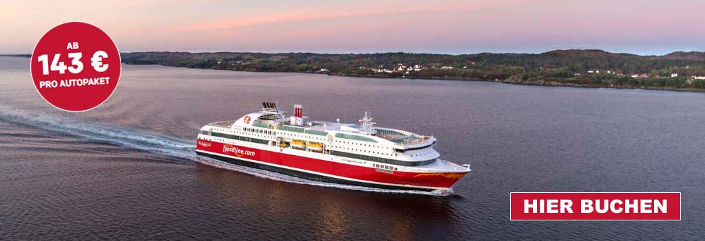 Mit Fjord Line schnell und günstig zum Lengangeln nach Norwegen.