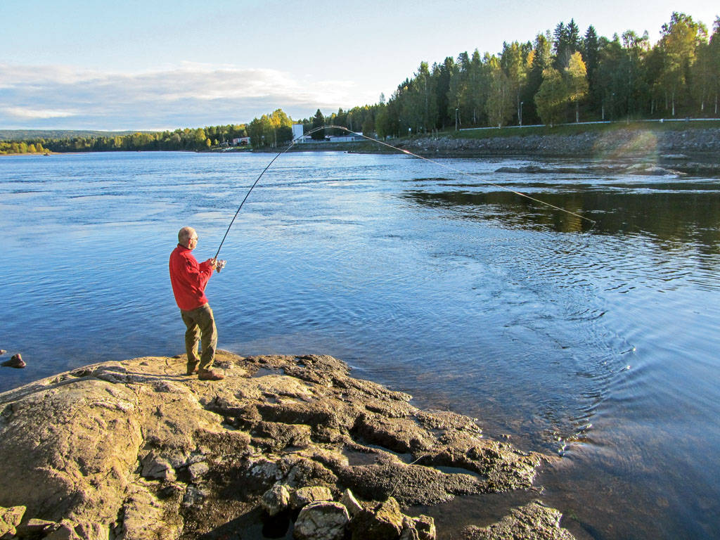 Wenn sich das Wasser im Frühjahr erwärmt, haben Angler in Schweden gute Chancen auf Meerforellen. Foto: BLINKER/S. Rose