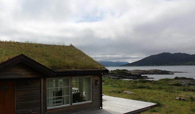 Tolle Aussichten für einen Angelurlaub am Sandsfjord. Foto: Borks