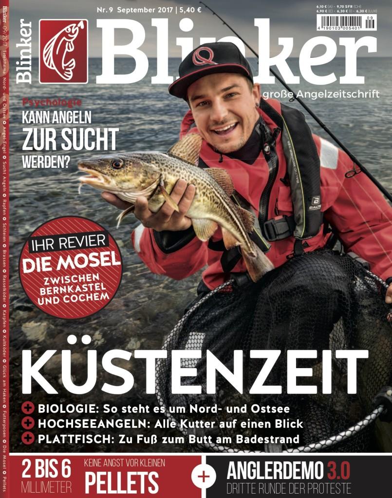 Die aktuelle BLINKER-Ausgabe im September 2017