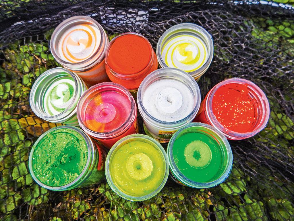 Diese Teigfarben eignen sich besonders gut zur warmen Jahreszeit. Foto: BLINKER/G. Bradler
