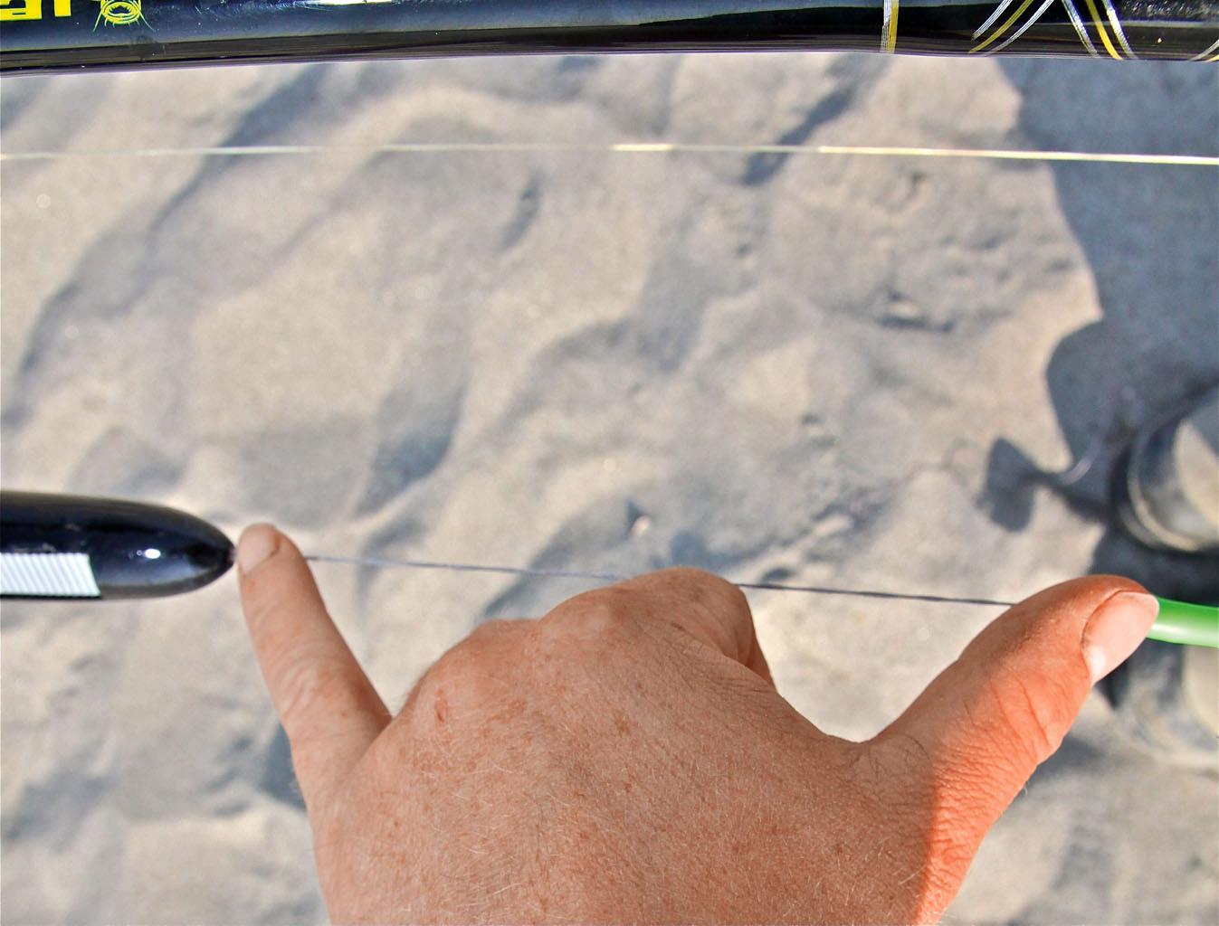 Der Abstand zwischen U-Pose und dem ersten Haken sollte 15 Zentimeter betragen. Foto: BLINKER/ B. Gründer