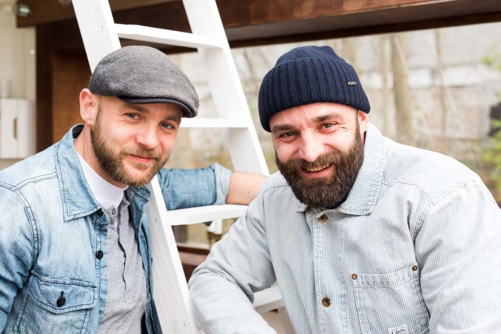 Die Brüder Malle und Stefan Eggert sind Köche aus Leidenschaft. Foto: Oliver Hardt