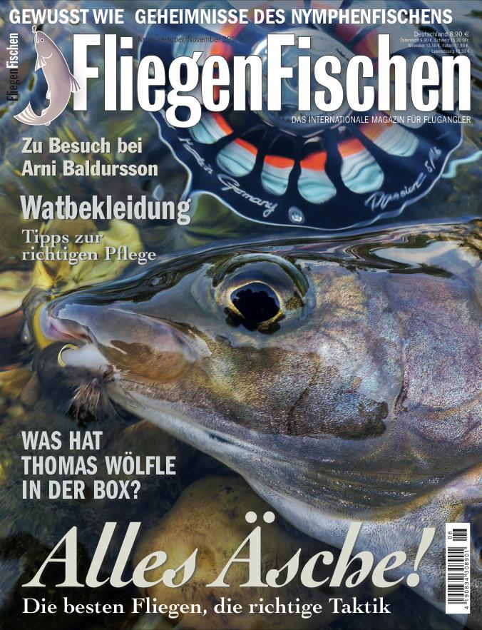 Back to Black! Thomas Wölfle öffnet für Sie seine Fliegendose und verrät wann er welche Fliegen einsetzt. Freuen Sie sich auf die neue FliegenFischen-Ausgabe 6/2017: ab 4. Oktober im Handel erhältlich.