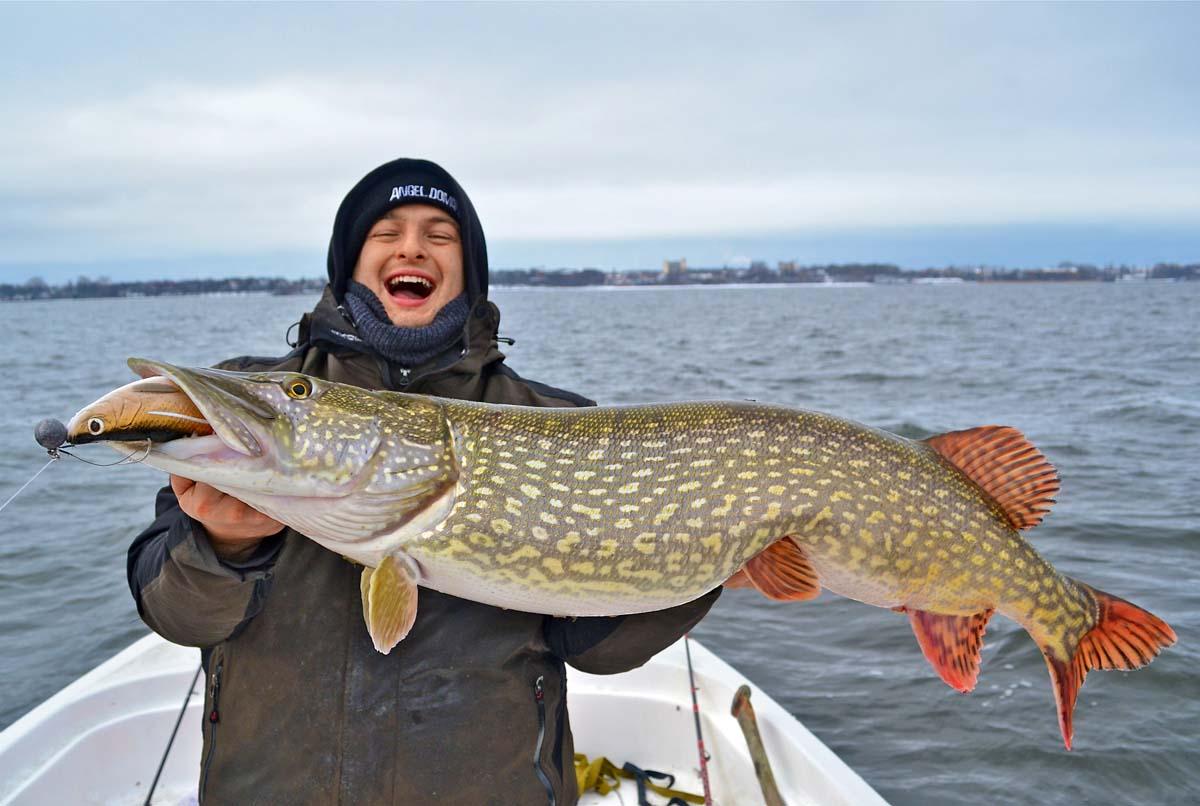 Die Langen fangen nicht nur die großen Fische. Foto: BLINKER/M.Brauch