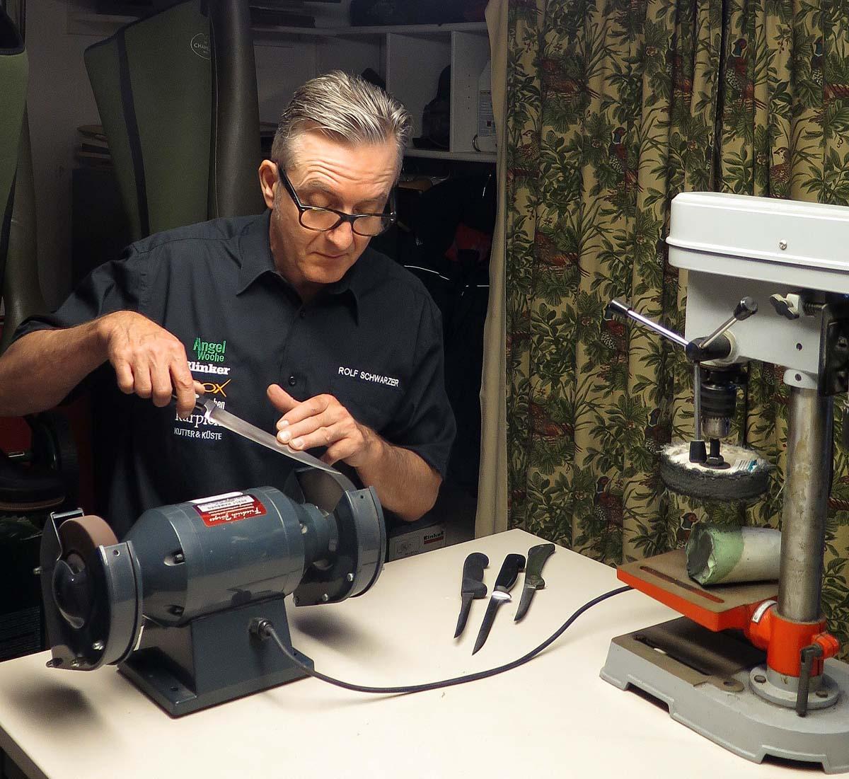 Vorab: Bei drehenden Werkzeugen ist grundsätzlich Vorsicht geboten! Foto: BLINKER/W. Krause