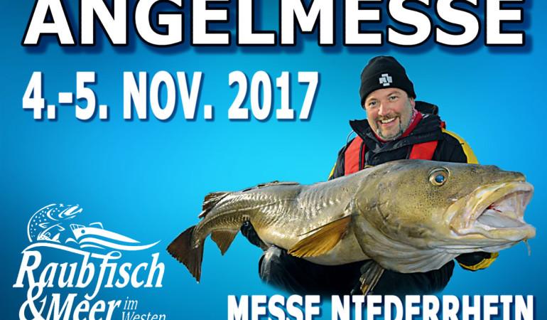 """Die Angelmesse """"Raubfisch und Meer im Westen"""" findet in diesem Jahr zum ersten Mal am Niederrhein in Rheinberg statt. Foto: M+S Expo"""
