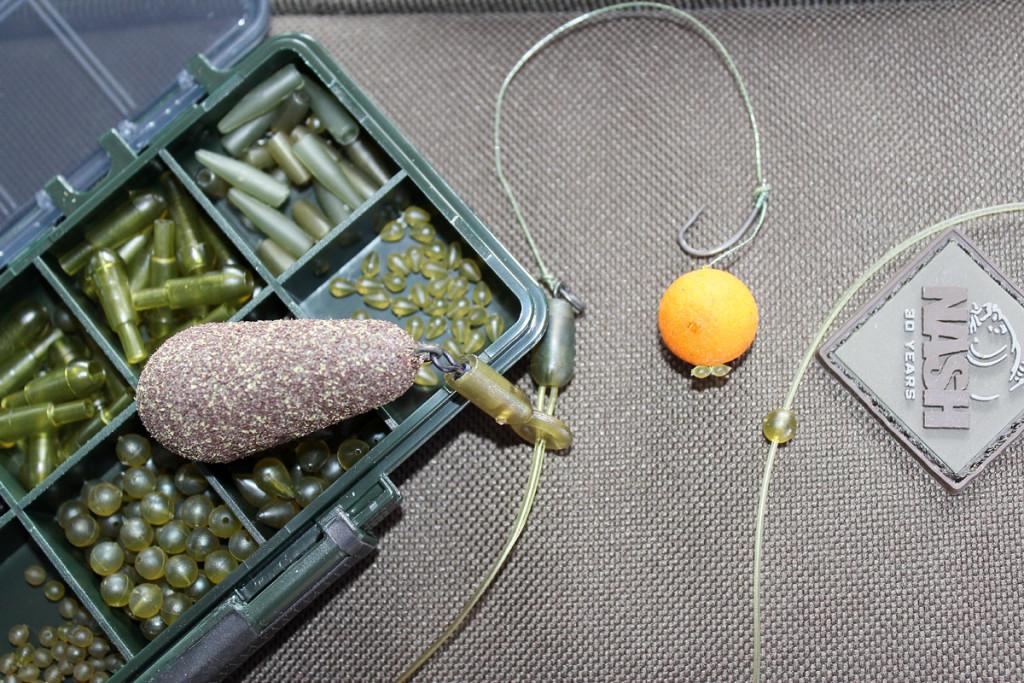 Eine Laufbleimontage ist sehr sensibel und ideal zum einstieg ins Karpfenangeln geeignet. Foto: BLINKER/T. Steinbrück