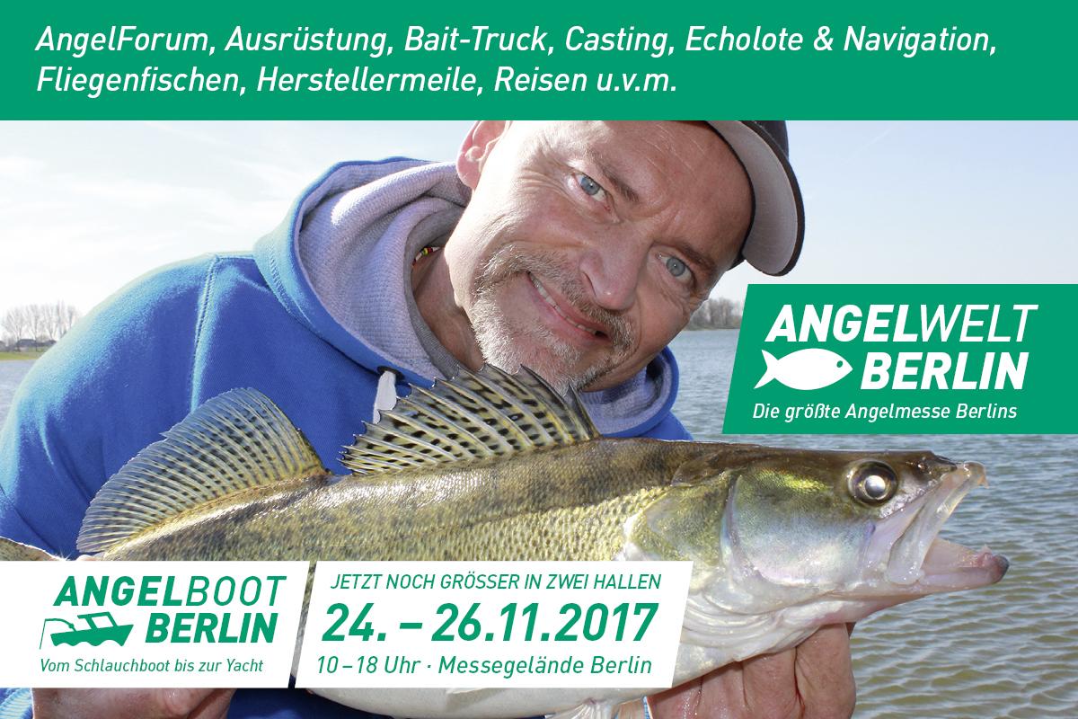 Auf der AngelWelt Berlin 2017 werden auch zahlreiche Experten wie zum Beispiel auch Dietmar Isaiasch vor Ort sein. Foto: AngelWelt Berlin