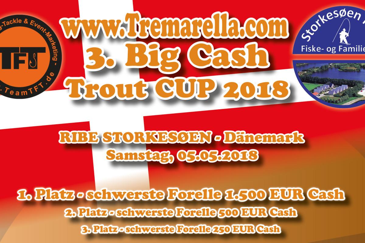 Tolle Preise warten beim Big Cash Trout Cup auf die Angler. Foto: TFT