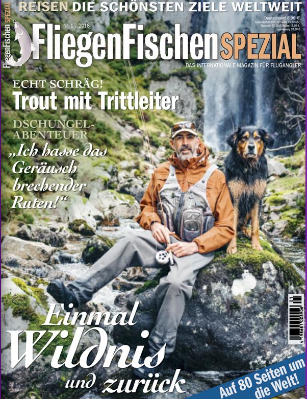 Die schönsten Reiseziele für Fliegenfischer finden Sie in dieser Ausgabe des Magazins FliegenFischen.