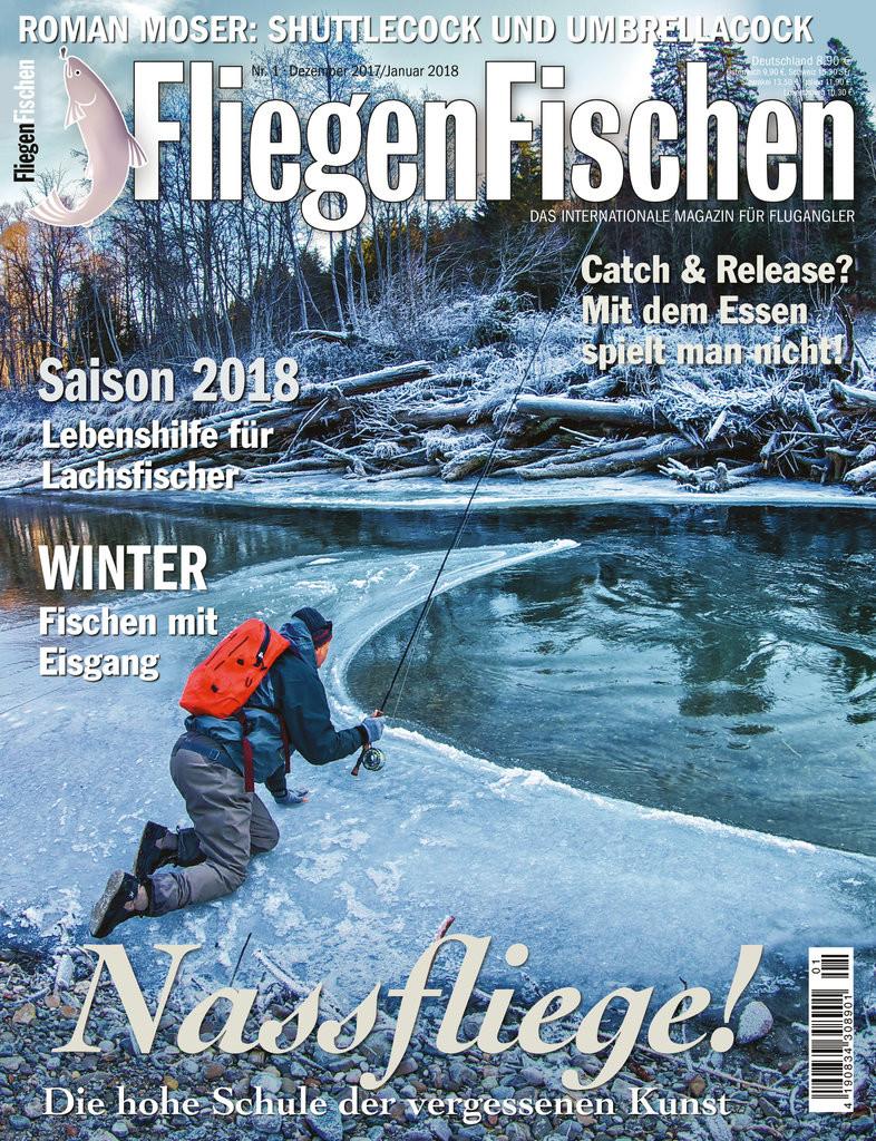Die aktuelle Ausgabe von FliegenFischen 1/2018 ist ab dem 6.12. im Handel erhältlich.