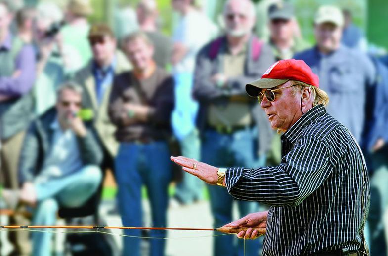 Der leidenschatliche Fliegenfischer und Gourmet Hans-Ruedi Hebeisen feierte am 9. Dezember 2017 seinen 75. Geburtstag.
