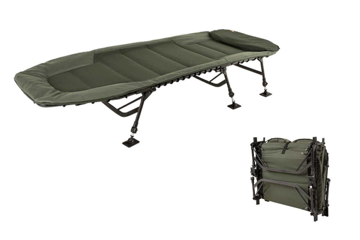 """Das """"Defender Level Bed"""" von JRC  sorgt für optimalen Liegekomfort am Wasser."""