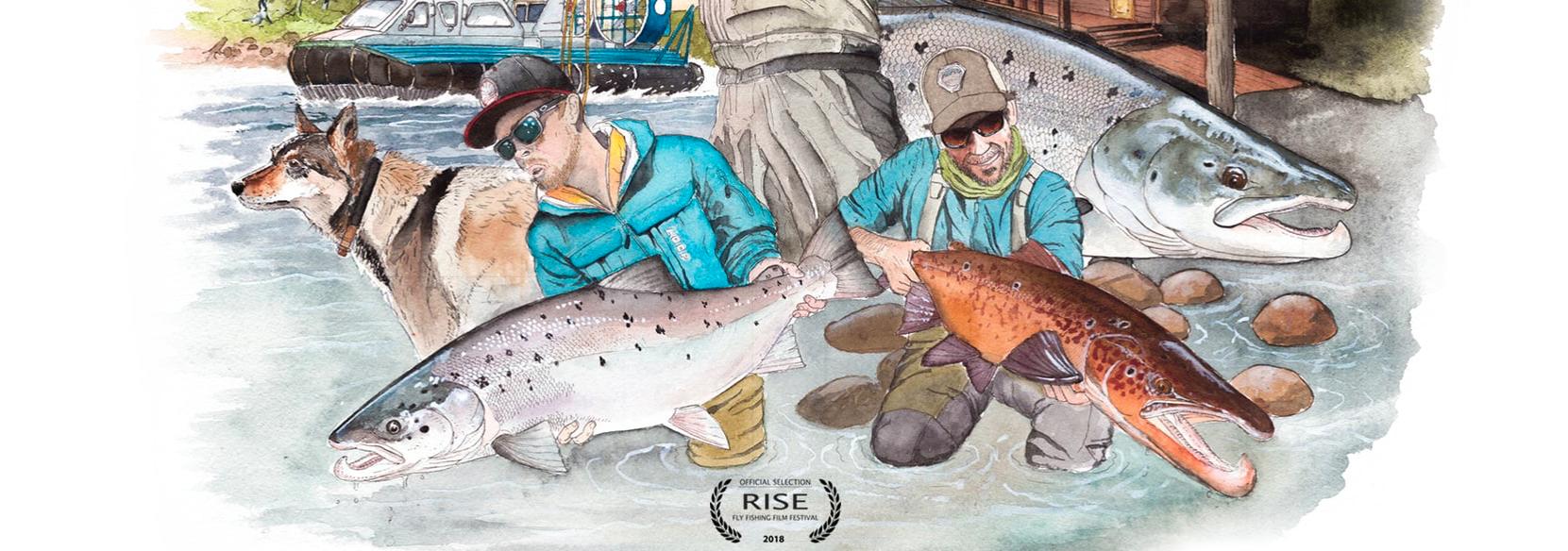 """Den Film """"Three Runs"""" über das Lachsfischen am Pony sehen Sie auf RISE – dem größte Fliegenfischer Film Festival der Welt!"""