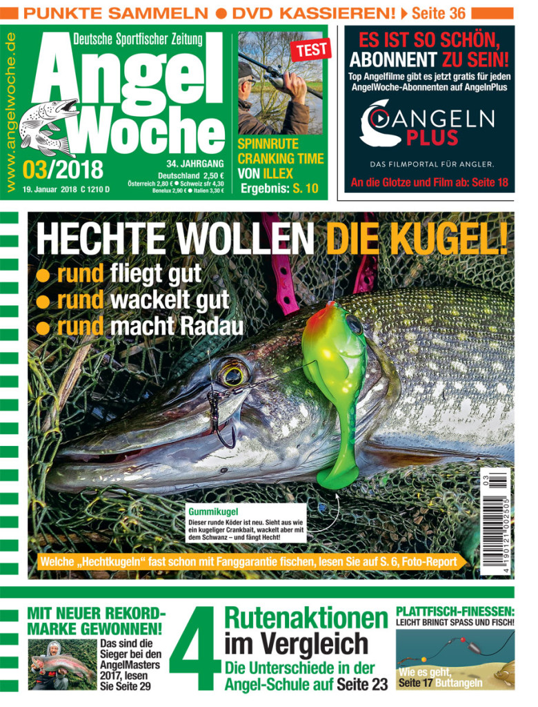 Titel Angelwoche 3/2018